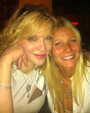 Courtney Love, Gwyneth Paltrow