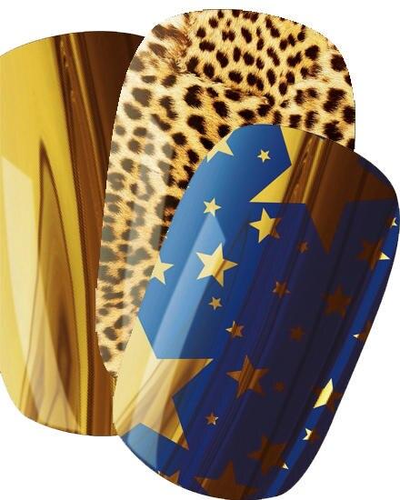 """Die Serie """"Nail Rock"""", 16 Stück (verschiedene Motive), ca. 8 Euro, gibts exklusiv bei Douglas"""