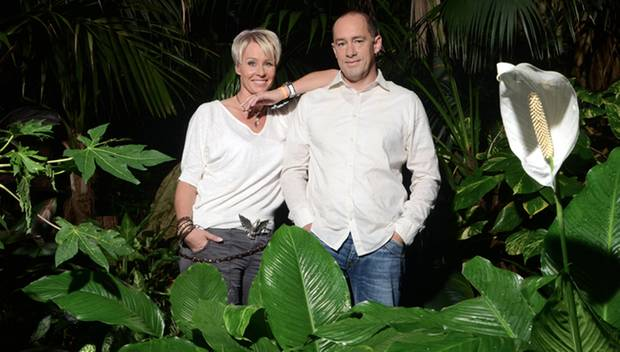 """Seit 2002 sind """"Ich bin ein Star...""""-Moderatorin Sonja Zietlow und Gag-Autor Jens Oliver Haas miteinander verheiratet. Haas ist"""