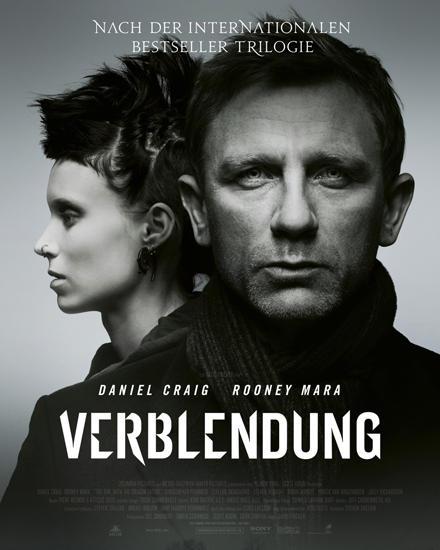 """David Finchers Thriller """"Verblendung"""" läuft ab sofort im Kino. Daniel Craig mag der Star des Films sein, aber die bislang unbeka"""