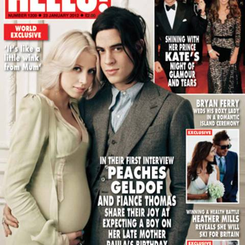 Peches Geldof, Thomas Cohen