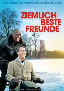 Das Filmplakat mit den beiden Hauptdarstellern Omar Sy und Francois Cluzet.