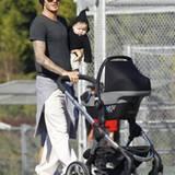 David Beckham, 36, lenkt seine Karriere in eine ruhigere Richtung: Der Fußball-Star will mehr Zeit mit der Familie verbringen -