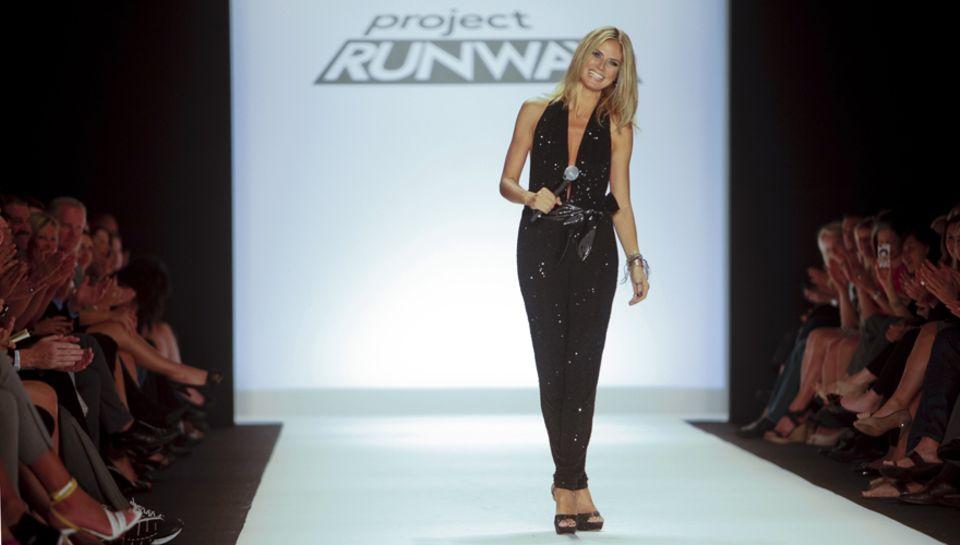 """In den USA moderiert Heidi """"Project Runway"""" bis sie dann ab dem 23. Februar wieder in der Jury zu """"Germany's next Topmodel"""" sitz"""