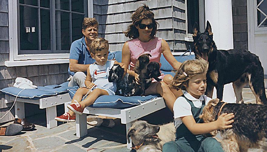 Der letze Sommer als Familie: 1963 verbringen John F. Kennedy und seine Frau Jacqueline die Sommerferien mit ihren Kindern John