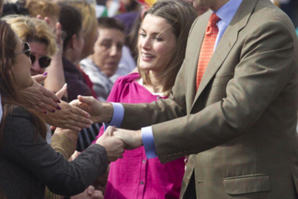 Prinzessin Letizia, Prinz Felipe