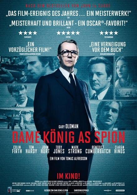 """Jetzt im Kino: In """"Dame König As Spion"""" werden die Agenten (u.a. Colin Firth und Tom Hardy) wie beim Schach bewegt - oder aus de"""