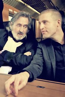 Helmut Dietl und Benjamin von Stuckrad-Barre