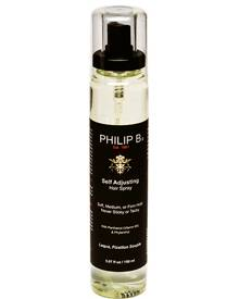 """Self Adjusting Hair Spray"" mit pflegendem Vitamin B. Von Philip B, 150 ml, ca. 28 Euro"