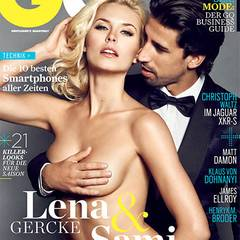 GQ Cover - Lena Gercke, Sami Khedira