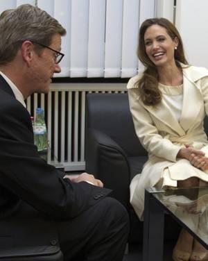 Angelina Jolie, Guido Westerwelle