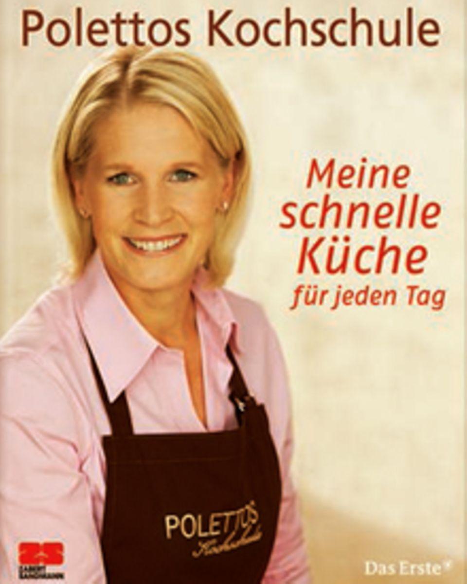 """Cornelia Poletto zeigt in ihrem neuen Buch, dass schnell auch lecker ist.  (""""Polettos Kochschule: Meine schnelle Küche für jeden"""
