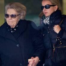 Königin Beatrix und Mabel