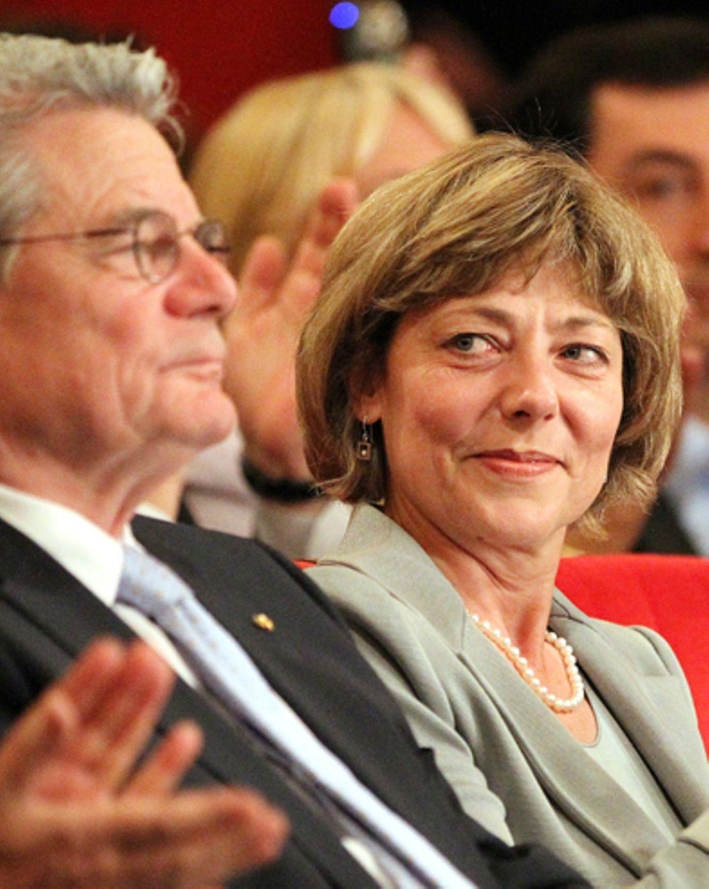 Daniela Schadt und Joachim Gauck