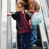 Jennifer Garner wird von Tochter Violet zum Arzt begleitet.