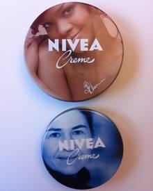 """Fast so toll wie Nivea-Gesicht Rihanna: Nach einer Kiwi-Maske und anschließendem Honig-Treatment im """"Nivea Haus Hamburg"""" darf ic"""