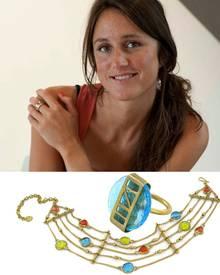 """Made UK: Hattie Rickards lässt ihren """"Fair Trade""""- Schmuck in Afrika produzieren. Ring, ca. 55 Euro, Kette, ca. 240 Euro, made.u"""