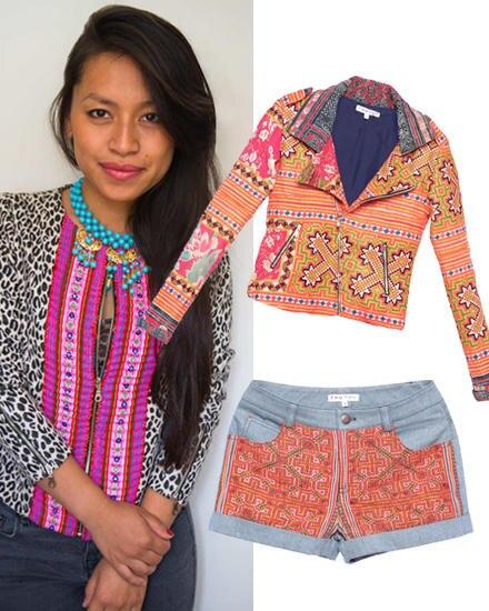 Thu Thu: Thuy Duong Nguyen nutzt ihre vietnamesischen Wurzeln für ihre coolen Designs. Jacke, ca. 510 Euro, Shorts, ca. 230 Euro