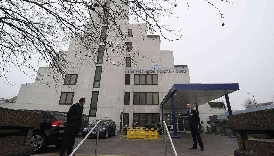 Im Wellington Hospital, einer 266-Betten-Klinik nahe dem Londoner Regent ?s Park, liegt der holländische Prinz Friso im Wachkoma