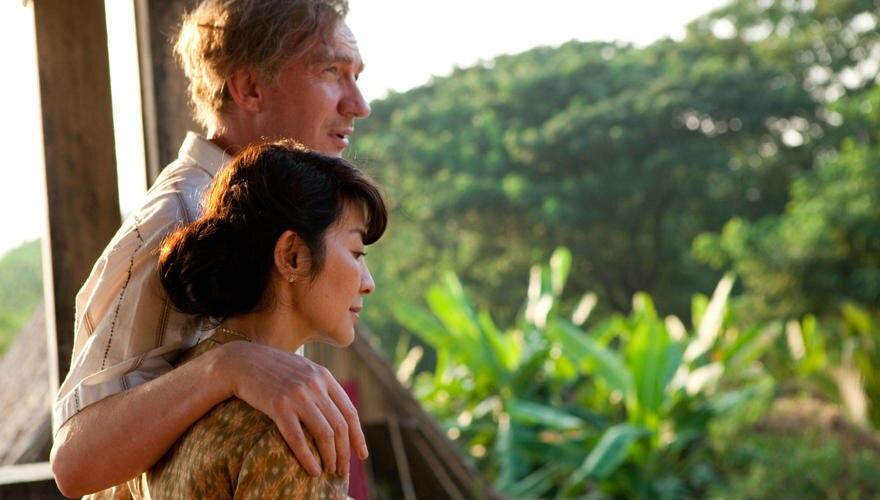 Seltenes Glück der Zweisamkeit:Suu Kyi (Michelle Yeoh) und Michael (David Thewlis).