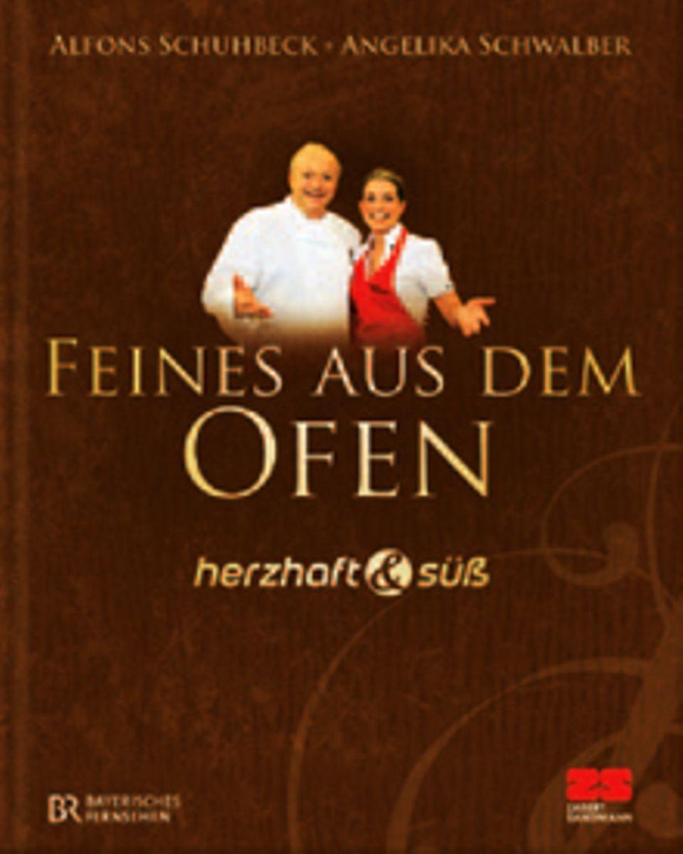 Spitzenkoch Alfons Schuhbeck und Konditormeisterin Angelika Schwalber präsentieren in ihrem gemeinsamen Buch pikante und süße Kö