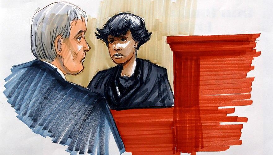 Schwerer Gang für Jennifer Hudson: Die Sängerin muss in den Zeugenstand und gegen den Mann aussagen, der ihr die Familie nahm.