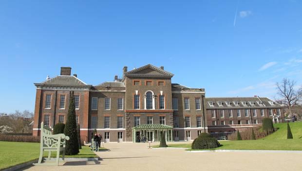 Londonder Domizil: 2013 ziehen William und Catherine ins Apartement 1A im Kensington-Palast in London. Bislang haben sie hier nu