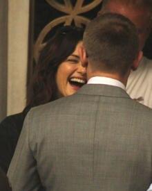 Rachel Weisz und Daniel Craig genießen die Drehpause gemeinsam.