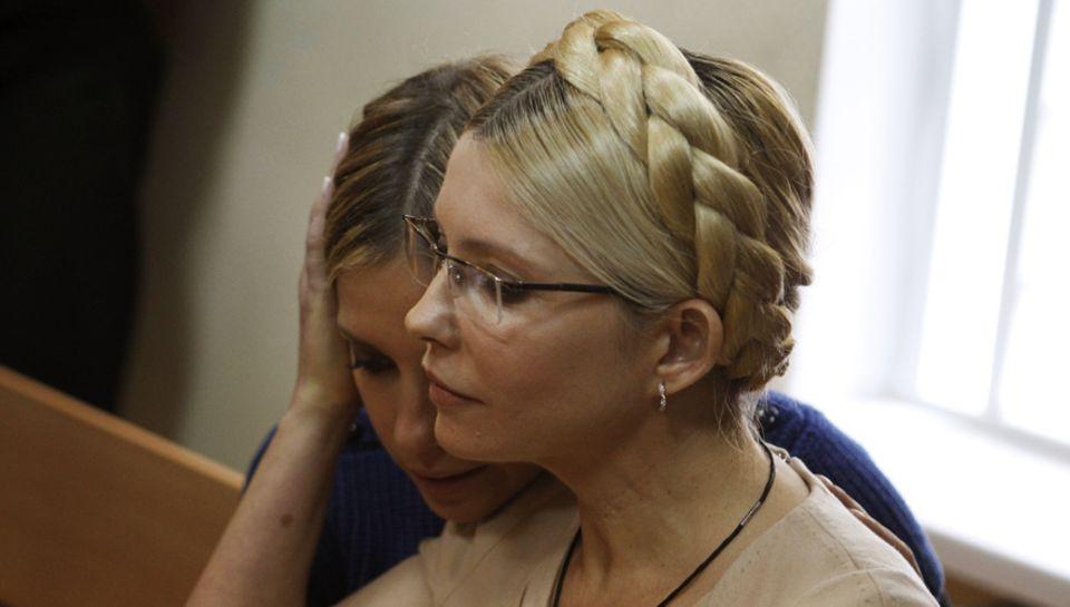 Misshandelt? Zu Unrecht inhaftiert? Jewgenija will nicht eher ruhen, als bis ihre Mutter, die Politikerin Julija Timoschenko fre