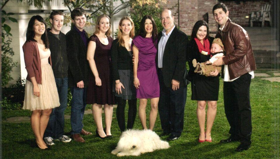 Familie Zuckerberg v.l.: Priscilla Chan, die Ärztin ist Mark Zuckerbergs langjährige Freundin, über eine baldige Hochzeit wird s