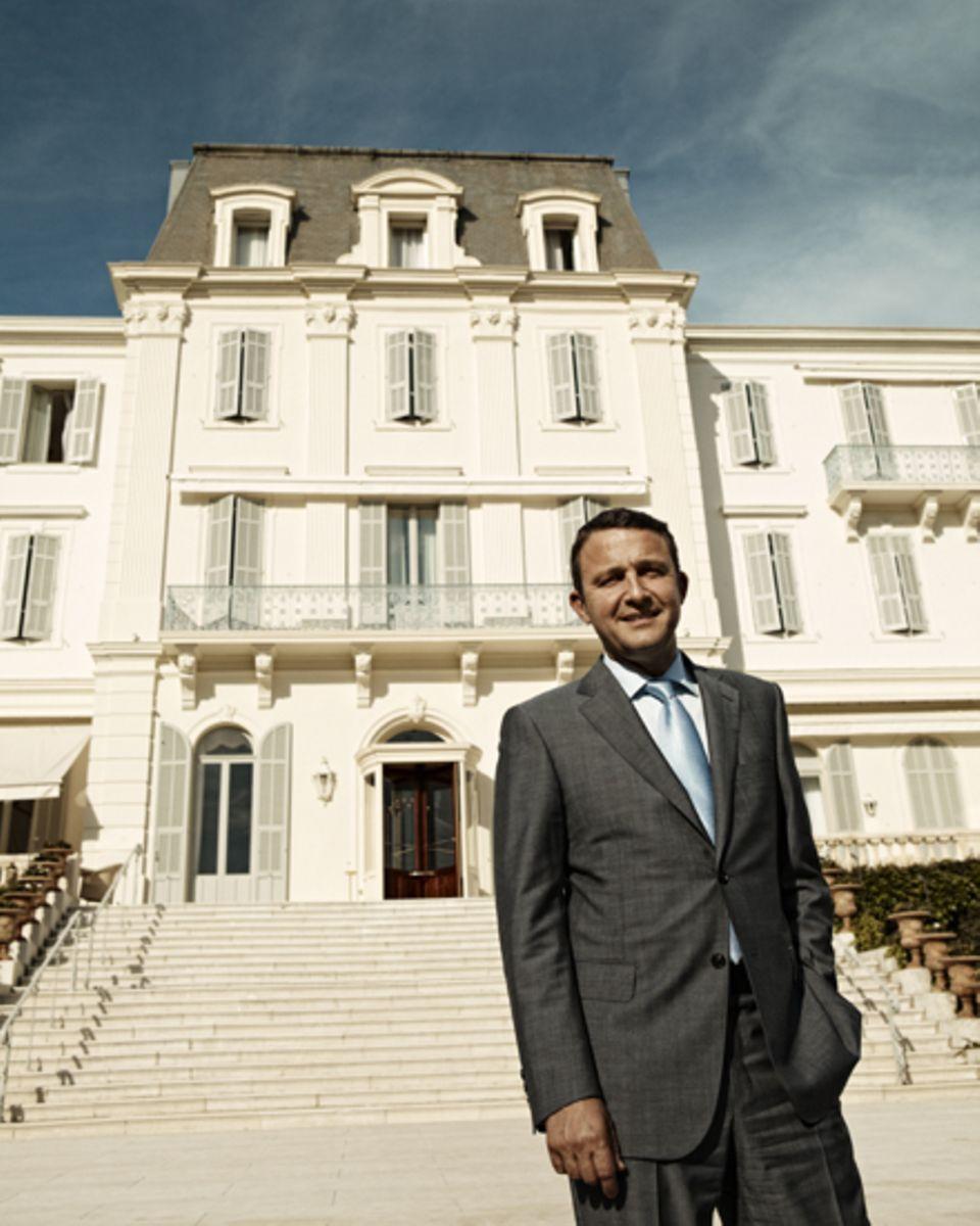 Der Franzose Philippe Perd führt das Hotel seit sieben Jahren, im vergangenen Jahr wurde es für 64 Millionen Euro renoviert.