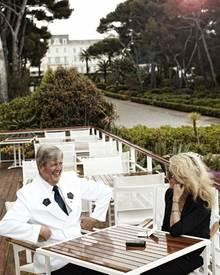 """Chef Portier und Wagenmeister Michel Babin de Lignac erzählt  """"Gala""""-Redakteurin Hili Ingenhoven über seine 37 Jahre im Hotel """"D"""