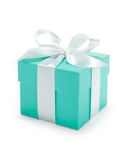 """Die """"Blue Box"""" ist die legendäre Geschenkverpackung aus dem Hause Tiffany."""