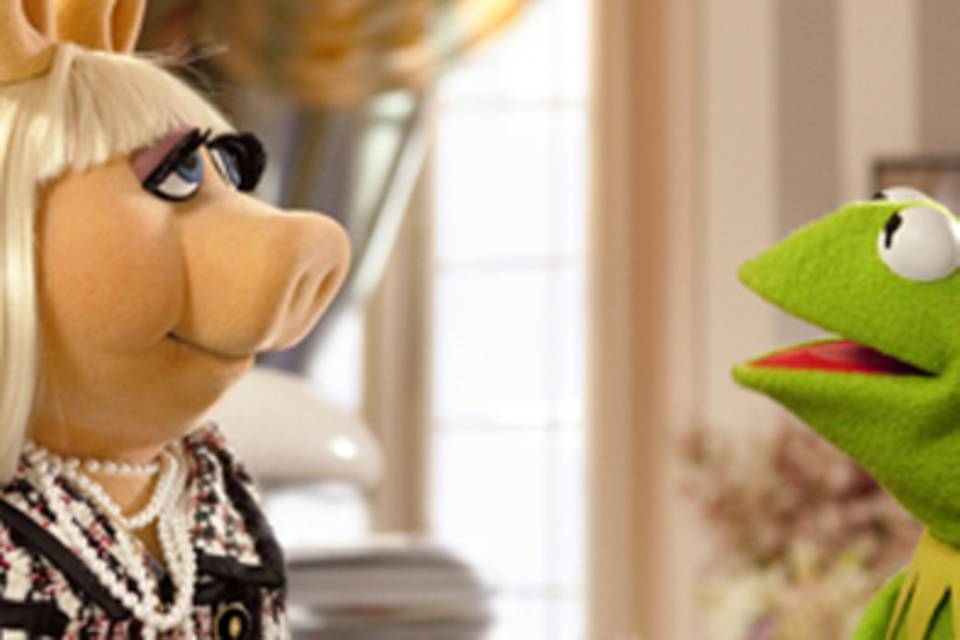 Miss Piggy, Kermit