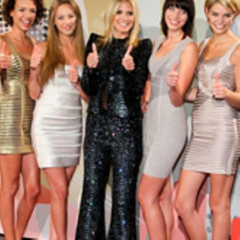 Kasia, Sarah-Anessa, Dominique, Luisa, Heidi Klum