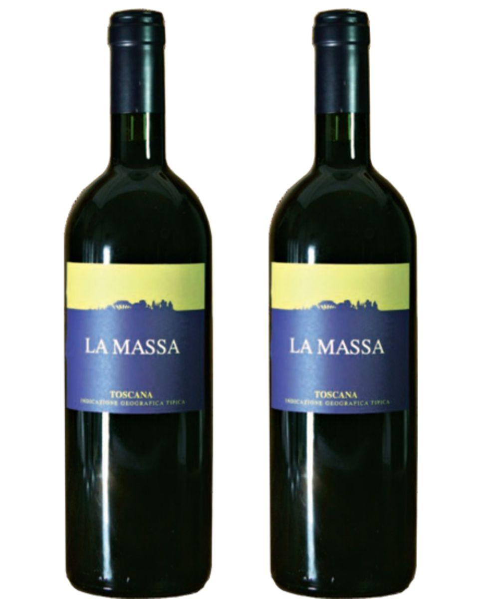 "2010er Fattoria La Massa, ""La Massa"", 0,75l, 24,00 Euro"