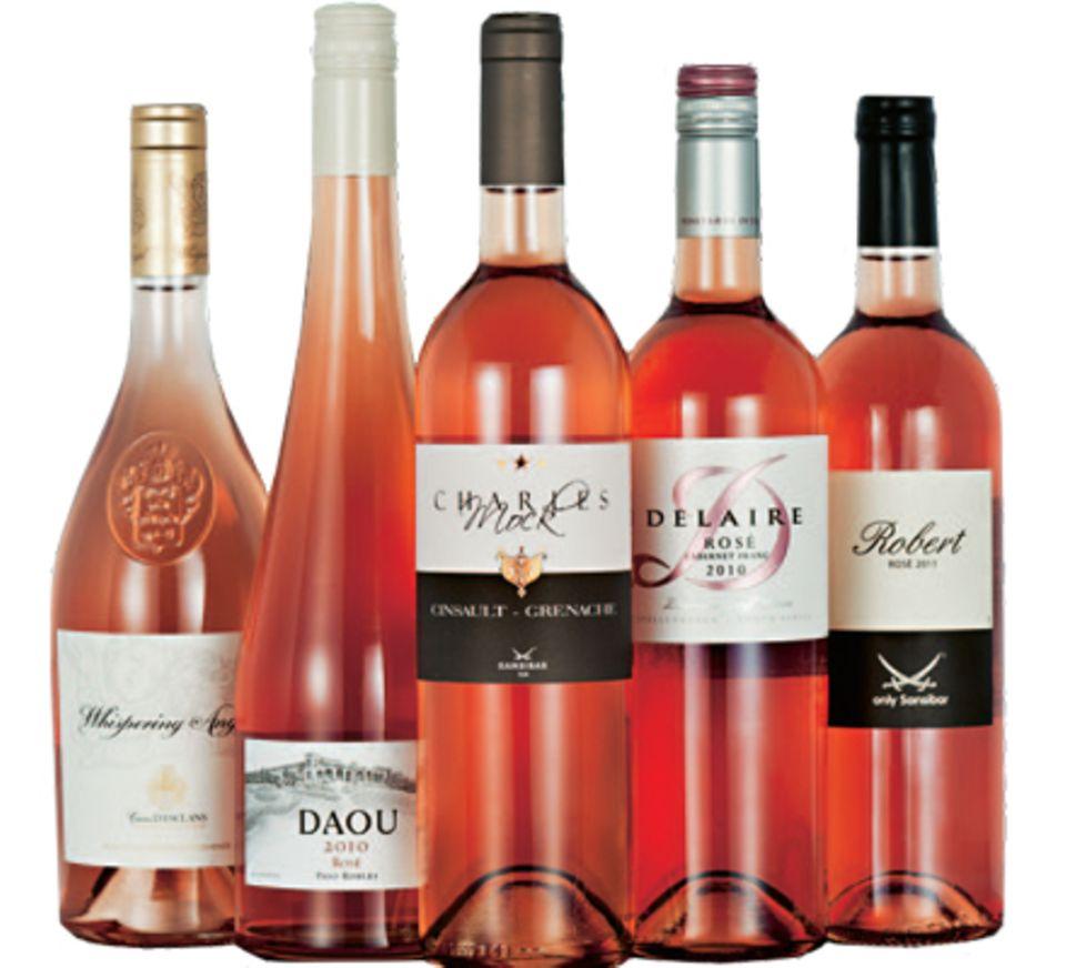 Das exclusive Rosè-Weinpaket von Sansibar und Gala mit fünf Weinen können Sie ab sofort zum Preis                                     von 69,90 Euro zzgl. Versandko