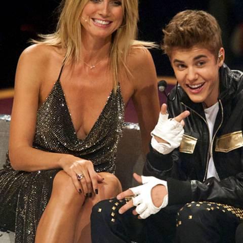 Heidi Klum, Justin Bieber