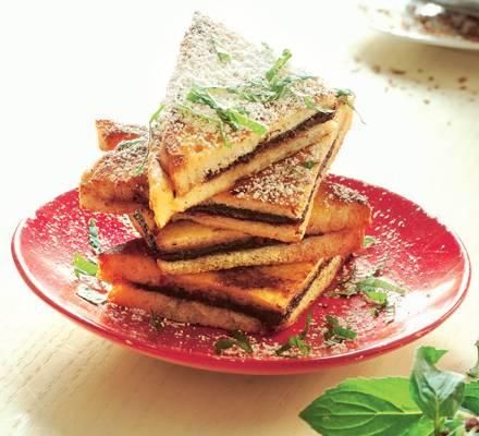 French Toast mit Schokolade
