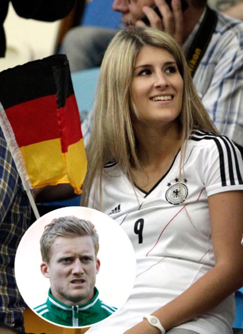 Sandra Schöning und  Bayer-Leverkusen-Star André Schürrle, 22, hatten sich vergangenes Jahr kurzzeitig getrennt, jetzt leben sie