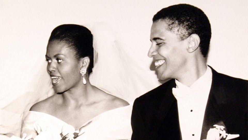 3. Oktober 1992: Hochzeitstag von Michelle und Barack Obama