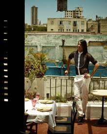 """""""Paladares"""" heißen die vielen privaten Restaurants auf Kuba. Jorges Lieblings-Paladares sind das """"L'Atelier"""" mit seiner malerisc"""