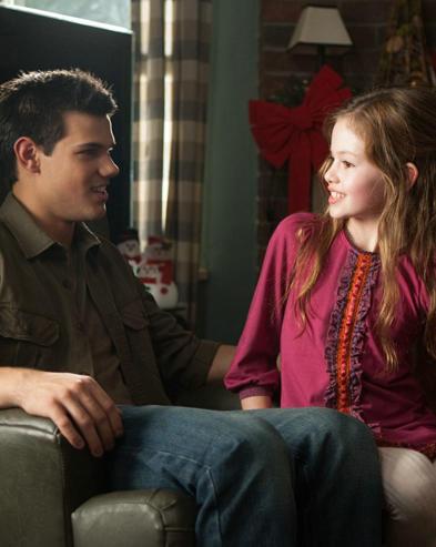 Taylor Lautner, Mackenzie Foy