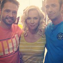 Jason Priestley, Jennie Garth, Luke Perry