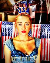 MIley Cyrus 4th of July