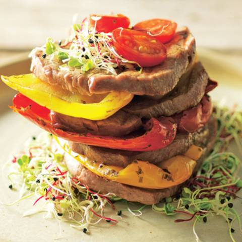 Beef-Tower