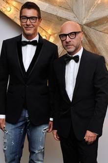 Domenico Dolce und Stefano Gabbana
