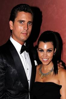 Scott Disick und Kourtney Kardashian