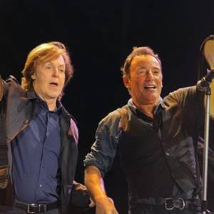 Paul McCartney und Bruce Springsteen