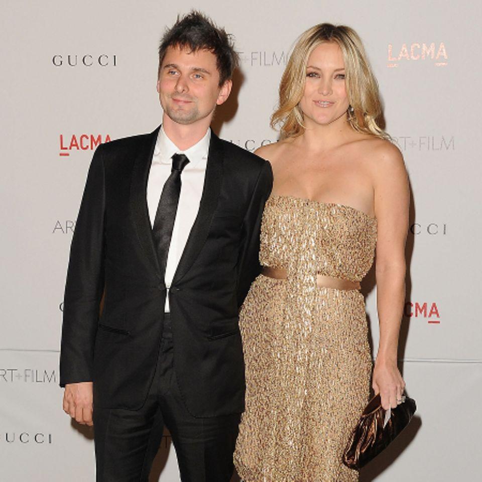 Matthew Bellamy und Kate Hudson
